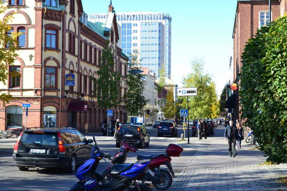Storgatan in  central Umeå
